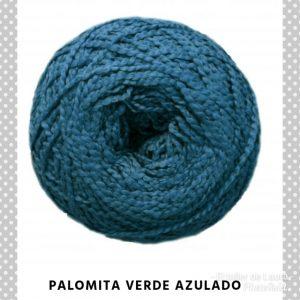 Palomita verde azulado