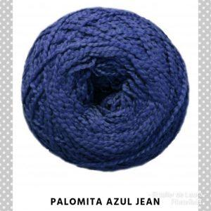 Palomita azul jean