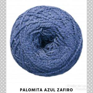 Palomita azul zafiro